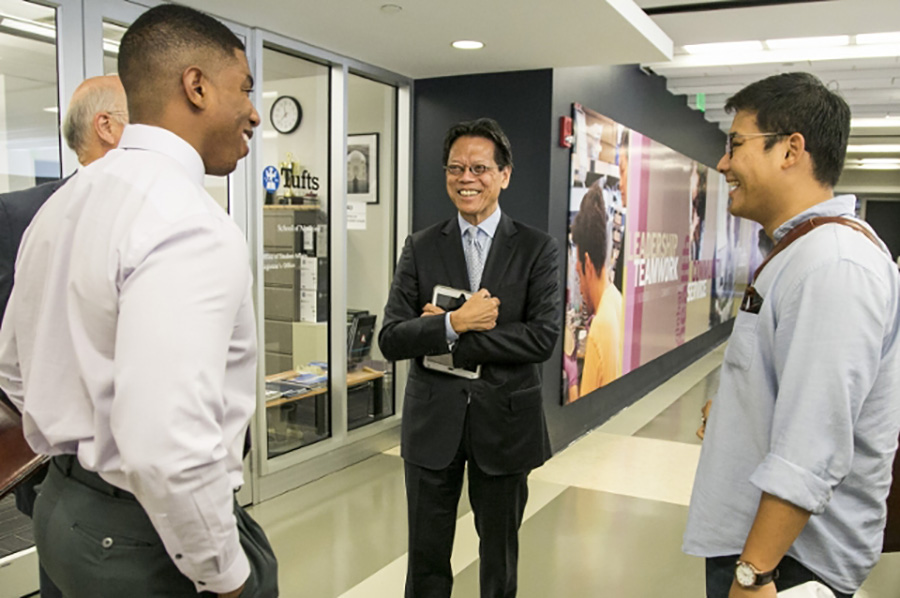 Advisor Sam Ho, M76, Puts Patients First