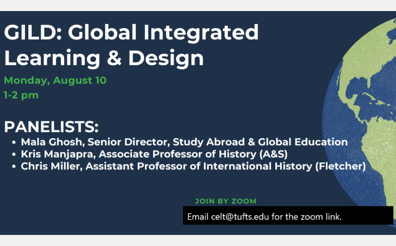 Global Integrated Learning and Design-- A new initiative
