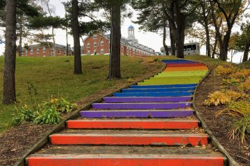 Tufts Rainbow Steps
