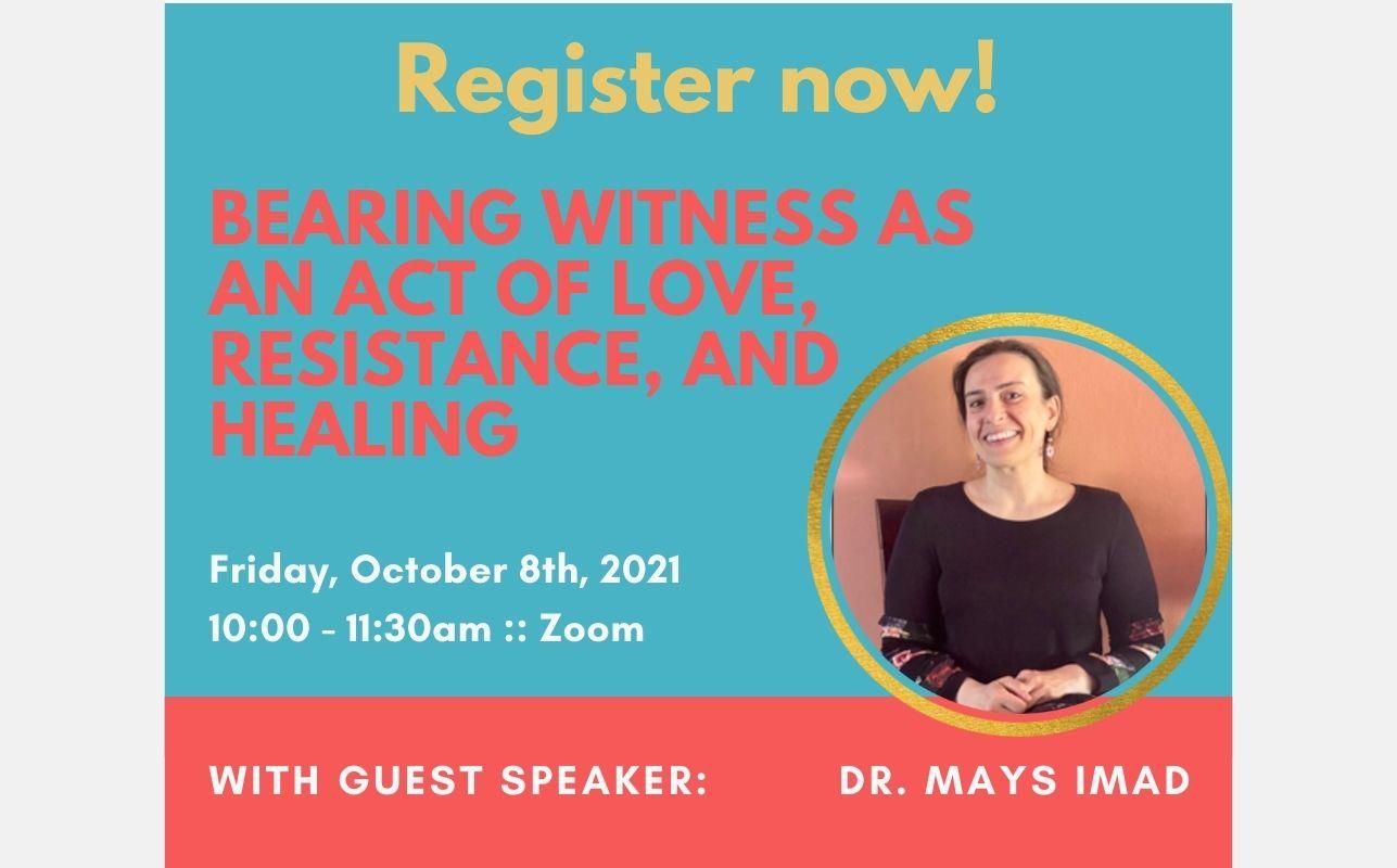 Guest Speaker Oct. 8th