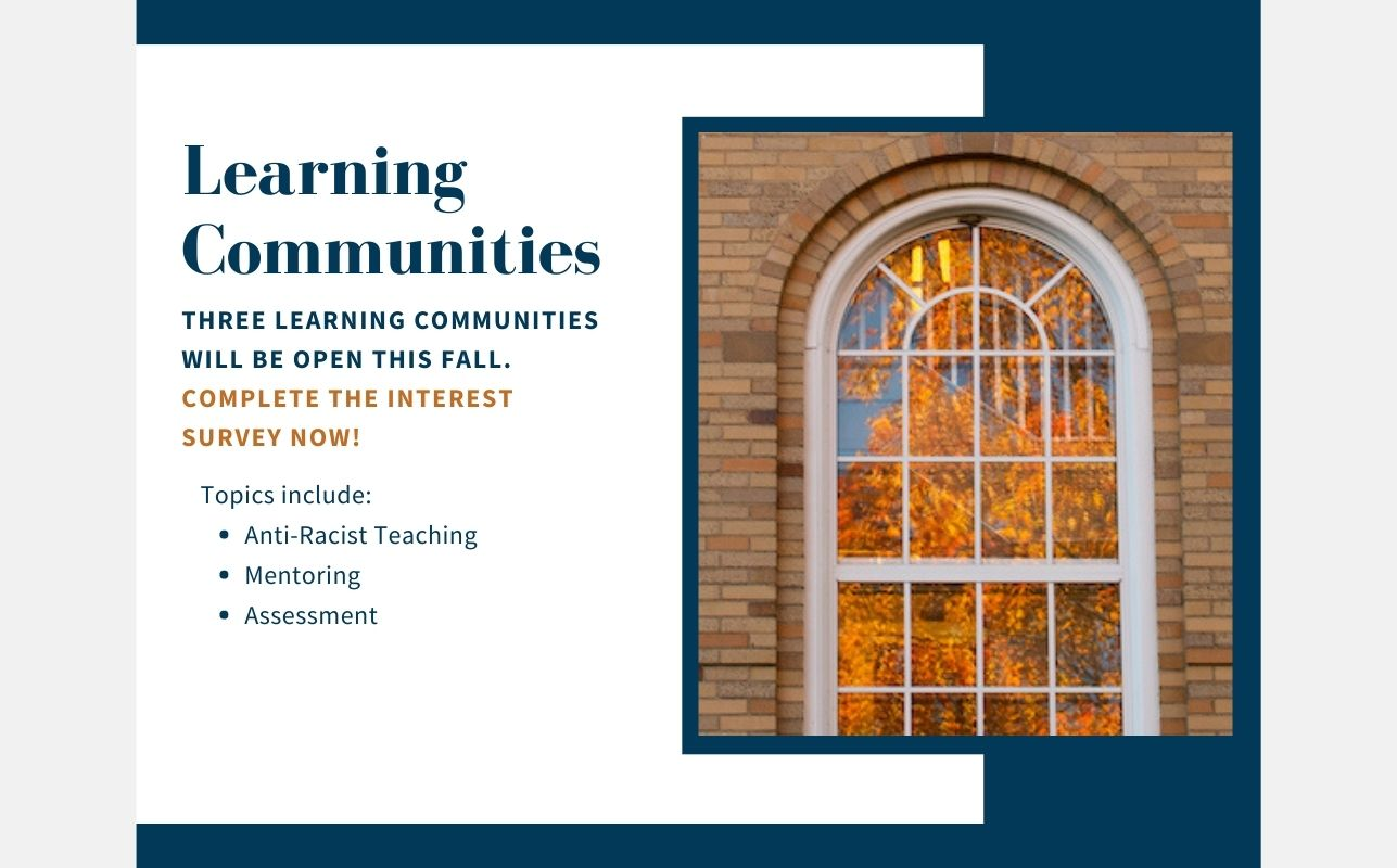 Fall 2021 Faculty Learning Communities