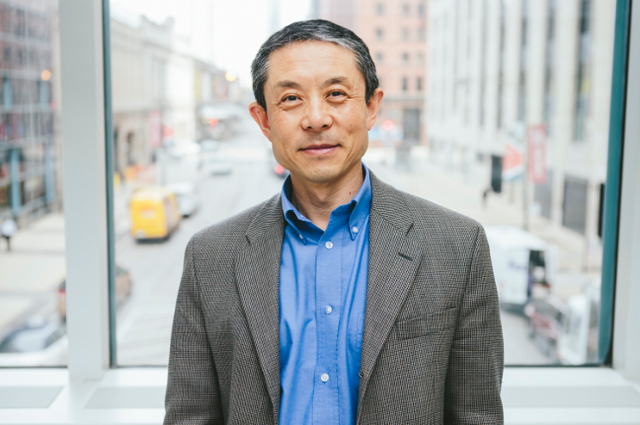 Engineering Dean Jianmin Qu