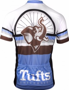 2015 Tufts Century Ride Mens Jersey Back