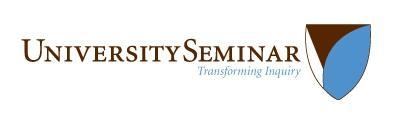 University Seminar, Transforming Inquiry
